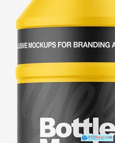 Matte Plastic Bottle Mockup 56393