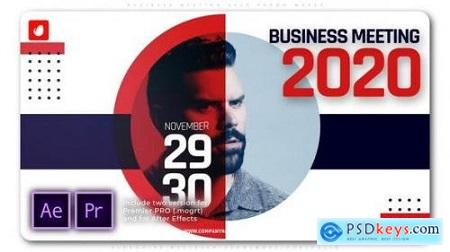 Business Meeting 2020 Promo Maker 25953152