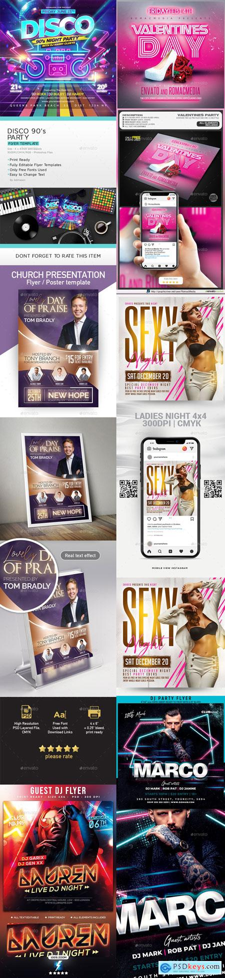Flyer Template Vip Part11 10-MAR-2020 PREVIEW