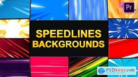 Speedlines Backgrounds Premiere Pro MOGRT 25927602