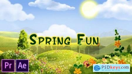 Spring Fun Premiere Pro 25911441