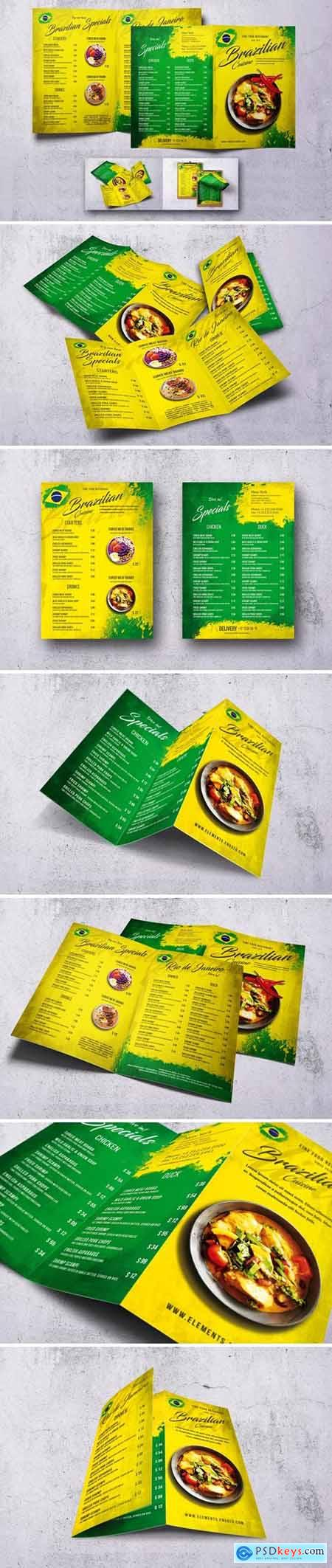 Brazilian Food Menu Bundle