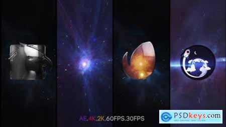 Space Vortex Logo Intro 25947816