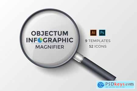 Objectum Infographic Magnifier
