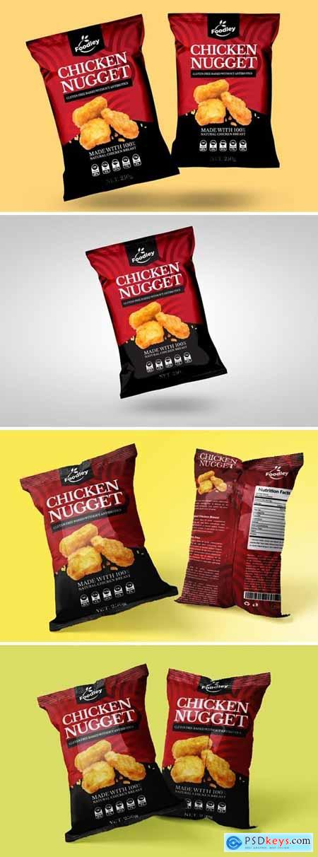 Chicken Nugget Packaging Design V2