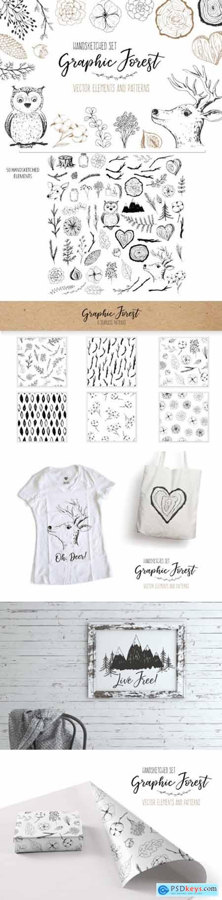 Vector Graphic Forest Collection 3552104