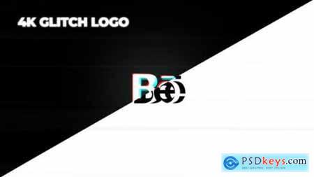 Minimal Glitch Logo 25962249
