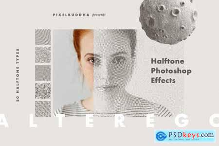Alter Ego Halftone Photoshop Effect 4164985