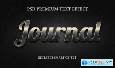 Journal text effectportrait of beautiful woman