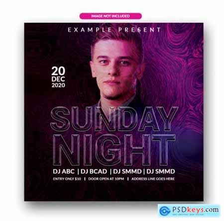 Sunday night flyer