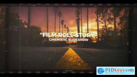 Film Roll Story Cinematic Slideshow 22143967