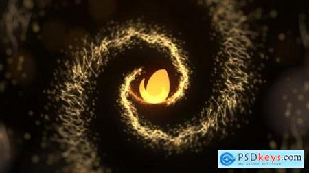 Golden Particles Intro 22778505