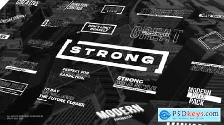 Strong Titles FCPX & Motion 25996588