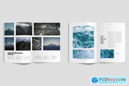 Clean & Modern Minimalist Magazine 4227846