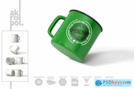 Enamel Mug Mock Up 4550979