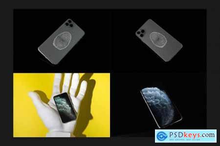 iPhone 11 Pro Max Mock-Up Set 4551961