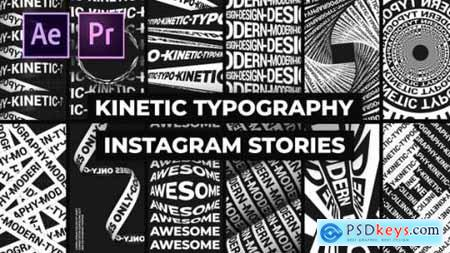 Kinetic Typography Instagram Stories 26002437