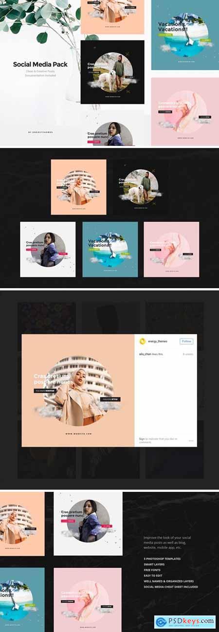 Social Media Banners - Vol99