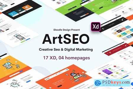 ARTSEO - Creative Seo & Digital Marketing Template