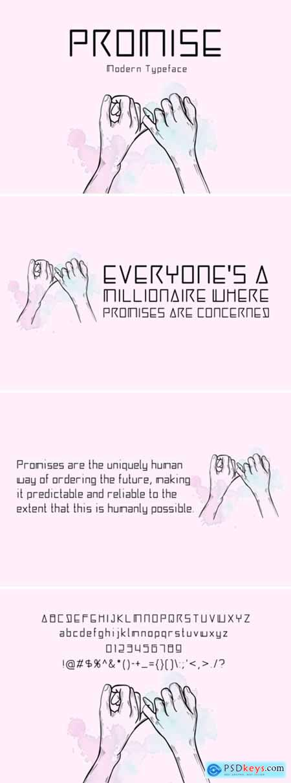 Promise Font