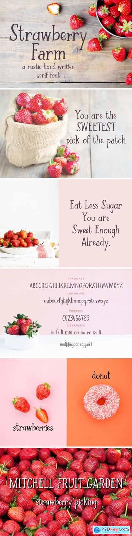 Strawberry Farm Font
