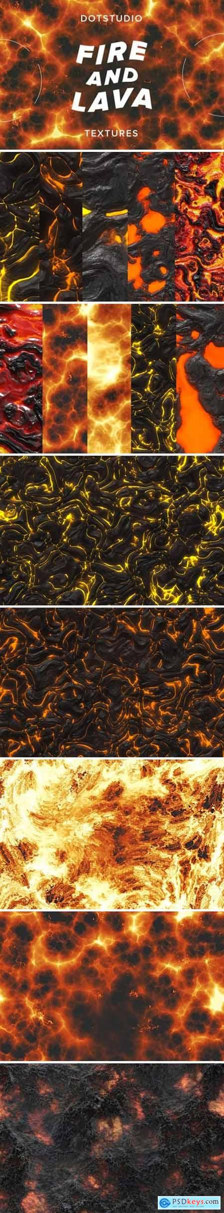 Fire and Lava Textures 3587268