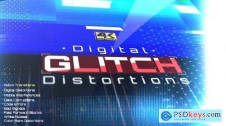 Digital Glitch Distortions 25961834