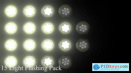 15 Light Flashing Pack 25944333
