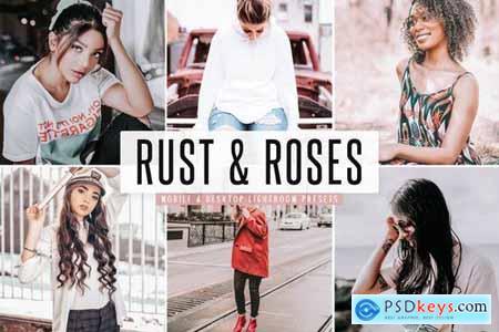 Rust & Roses Mobile & Desktop Lightroom Presets