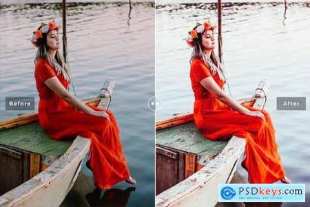 Poppy Mobile & Desktop Lightroom Presets