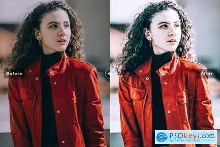 Pomegranate Mobile & Desktop Lightroom Presets