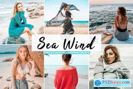 Sea Wind Mobile & Desktop Lightroom Presets