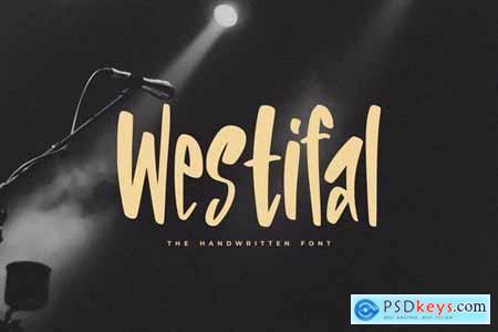 Westifal - The Handwritten Font