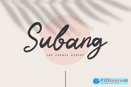 Subang - The Casual Script