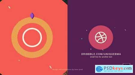 Abstract 2D Logo Animation 25901645