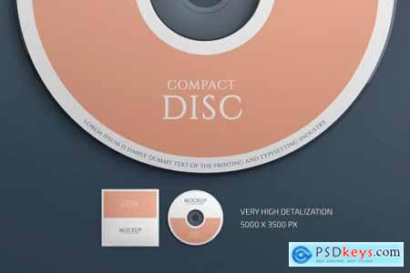 CD Cover Mockup Set 4511525