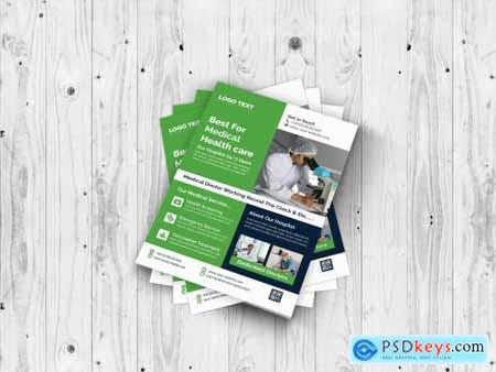 Medical & Health Care Flyer Template 4686304