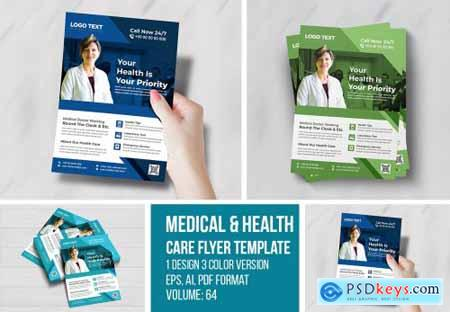 Medical Flyer Templates 4686301