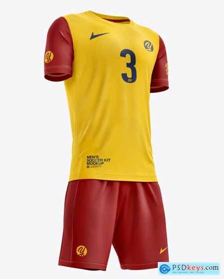 Men's Full Soccer Kit with Crew Neck 56639