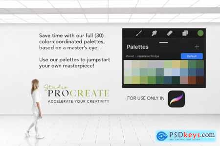 Procreate Color Palette - Monet 2 4579617