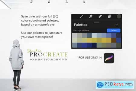 Procreate Color Palette - VanGogh2 4579624