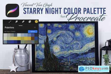 Procreate Color Palette - VanGogh2 4579624