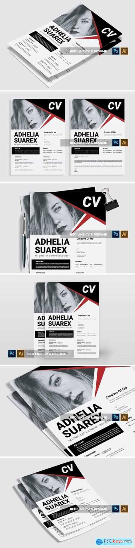 Red Line - CV & Resume