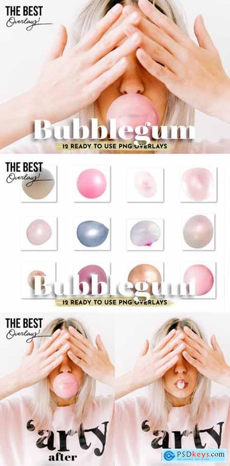 12 Bubblegum Overlays 3676855