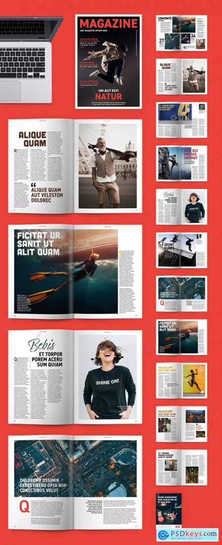 Modern Magazine Layout 331494435