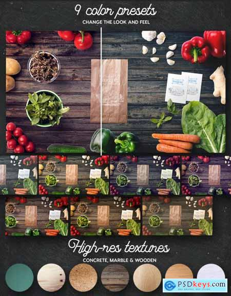 Organic Food Scene Generator 4508596