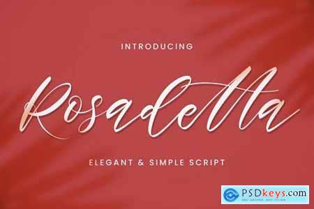 Rosadetta - Elegant Script