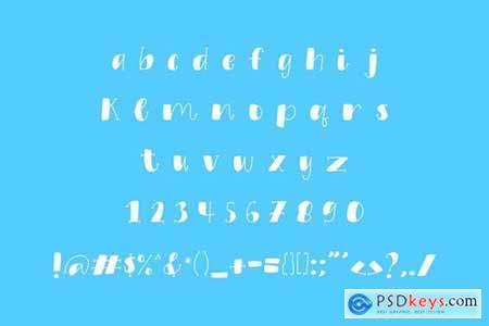 Pagi Ceria Extraordinary Display Font