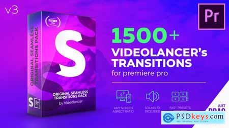Videolancer Transitions for Premiere Pro Original Seamless Transitions V3 22125468