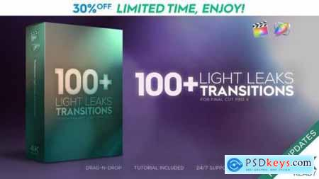 FCPX Light Leaks Transitions 23726269